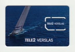 LITHUANIA Tele2 GSM SIM MINT - Lituania