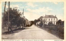 47 - Le Mas D'Agenais - Ecole De Garcons Et Entree De L'usine - Autres Communes