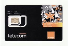MAURITIUS Orange GSM SIM MINT - Mauritius
