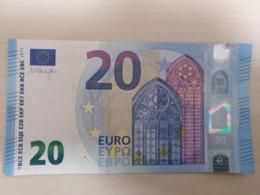 20 Euro NZ N001 Austria Autriche Österreich Draghi I- - 20 Euro