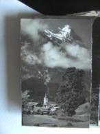 Zwitserland Schweiz Suisse BE Grindelwald Kirche Und Eiger - BE Berne