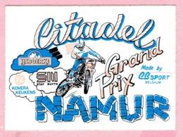 Sticker - Citadel NAMUR - Grand Prix Motocross - IJsboerke Tielen - Kovera Keukens - Stickers