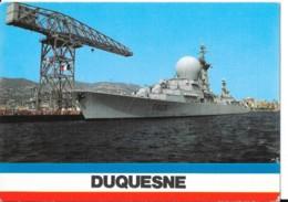 CPM - Carte Postale - Bateau Guerre - Frégate Lance Missile DUQUESNE - Guerre