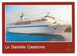 CPM - Carte Postale - Bateau - Corse - Danielle Casanova - Ferries