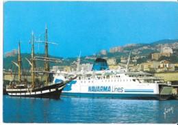 CPM - Carte Postale - Bateau - Corse - Moby Prince - Bastia - Ferries