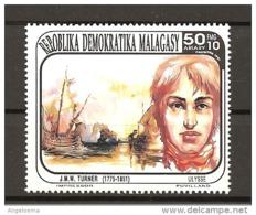 MADAGASCAR - 1991 J.M.W. TURNER Pittore Nuovo** MNH - Altri