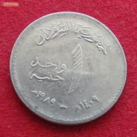 Sudan 1 Pound 1989 KM# 106  Sudão - Sudan