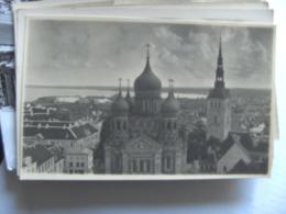 Estland Estonie Estonia Eesti Tallinn Photocard Part Of The City - Estonie