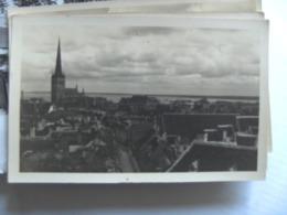 Estland Estonie Estonia Eesti Tallinn Photocard Reval City And Water - Estonie