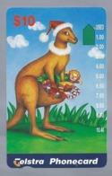 AU.- Telstra Phonecard $10. Chrismas. Australia. AUSTRALIË.   0126793897 - Kerstmis