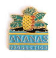 Pin's ANANAS PRODUCTION - Le Logo Du Fabricant De Pin's - Ananas - I673 - Marques
