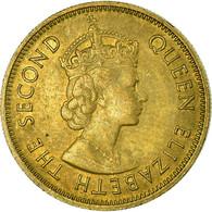 Monnaie, Hong Kong, Elizabeth II, 10 Cents, 1975, TTB, Nickel-brass, KM:28.3 - Hong Kong