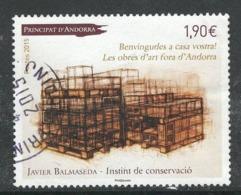 Andorra, Yv 763 Jaar 2015, Hoge Waarde, Gestempeld - Used Stamps