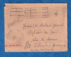 Enveloppe Ancienne - Sous Préfecture De CHATEAUBRIANT - Cabinet Du Sous Prefet - Cachet - Flamme Foires De BERE - 1947 - Frankreich