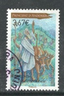 Andorra, Yv 764 Jaar 2015, Hele  Hoge Waarde, Gestempeld - Used Stamps