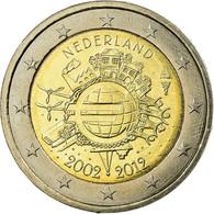 Pays-Bas, 2 Euro, 10 Ans De L'Euro, 2012, SUP, Bi-Metallic, KM:308 - Netherlands