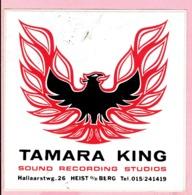 Sticker - TAMARA KING - Sound Recording Studios - Hallaarsteenweg 26 Heist O/d Berg - Stickers