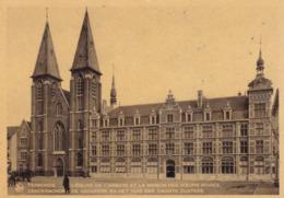 Dendermonde, De Abdijkerk En Het Huis Der Zwarte Zusters (pk62114) - Dendermonde