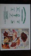 CALENDRIER DE POCHE FORMAT CPA PHARMACIE BANIOL GANGRES CHAMPIGNON HEBELOME 2006 - Small : 2001-...