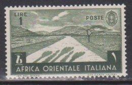ITALIAN EAST AFRICA Scott # 12 MH - Italian Eastern Africa