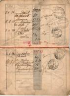 B 2772 - Libretto Di Risparmio Posta, 1909, Aglié, Torino - Vecchi Documenti