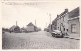 Dentergem, Stationstraat En Meulebekesteenweg, Oldtimer Mercedes 190 ? (pk62118) - Dentergem