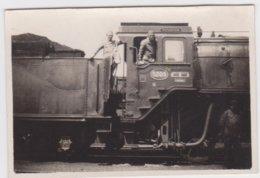 """FOTO Van De Locomotief """"Dendermonde"""" (8 Cm Op 5,5 Cm) - Trenes"""