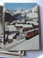 Zwitserland Schweiz Suisse GR Bugnei Tujetsch Sedrun Schnee Und Zug - GR Grisons