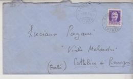 STORIA POSTALE  1939 BUSTA  SARNONICO TRENTO PER CATTOLICA RIMINI - Storia Postale