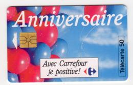 FRANCE EN779 CARREFOUR 50U Date 10/93 Tirage 7650 Ex - Privadas