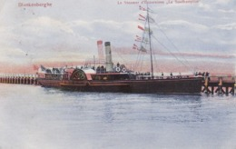 """CPA Blankenberghe - Le Steamer D'Excursions """"Le Southampton"""" - 1909 (44284) - Blankenberge"""