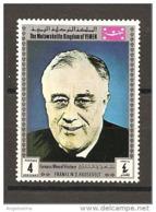 YEMEN REGNO - FRANKLIN D. ROOSEVELT 32° Presidente Usa Nuovo** MNH - Altri