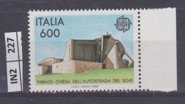 ITALIA   1987Europa L. 600 Nuovo - 6. 1946-.. República