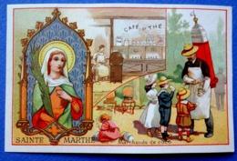 CHROMO.....A LA BELLE JARDINIÈRE / LILLE....SAINTE  MARTHE...PATRONNE DES CABARETIERS...CAFÉ..THÉ..COCO - Other