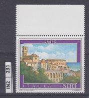 ITALIA   1987Turismo Vasto Nuovo - 6. 1946-.. Repubblica