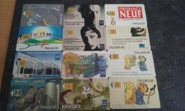 PETIT LOT 12 TELECARTES PRIVEES PUBLIQUES EDF GDF !!! - Francia