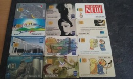 PETIT LOT 12 TELECARTES PRIVEES PUBLIQUES EDF GDF !!! - France