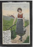 AK 0339  Gesegnete Ostern - Mailick Künstlerkarte Um 1905 - Ostern