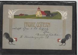 AK 0339  Fröhliche Ostern - Prägekarte Um 1905 - Ostern