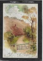 AK 0339  Sonnenschein-Postkarte - Künstler-Litho Um 1900 - Malerei & Gemälde