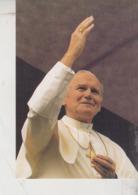 Santini - Image Pieuse Holy Card  Giovanni Paolo II Bratislava 1990 - Devotion Images