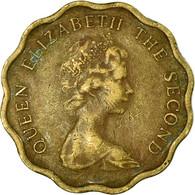 Monnaie, Hong Kong, Elizabeth II, 20 Cents, 1975, TB+, Nickel-brass, KM:36 - Hongkong