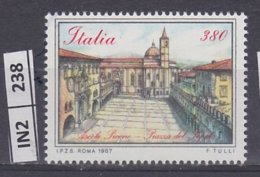 ITALIA   1987Piazze D'Italia L.  380 Nuovo - 6. 1946-.. República