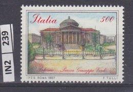 ITALIA   1987Piazze D'Italia L. 500 Nuovo - 6. 1946-.. República
