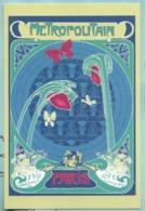 CPM Paris Art Nouveau , Métropolitain Les Tulipes De Guimard - Par C Sagouis - Ed Paris Chéri - Autres Illustrateurs