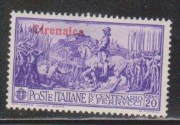 CIRENAICA Scott # 38 MH - Stamp Of Italy With Overprint - Cirenaica