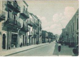 B3420 - Leonforte, Corso Unberto I° Municipio, Viaggiata 1960 FG - Enna