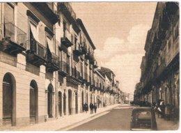 B3421 - Leonforte, Corso Unberto I°, Viaggiata 1960 FG - Enna