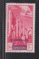 CIRENAICA Scott # C4 MH - Stamp Of Italy With Overprint - Cirenaica