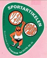 Sticker - Sportartikelen - VEDA SPORT - Bredabaan Merksem - Stickers